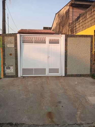 Casa, código 153 em Itanhaém, bairro Umuarama