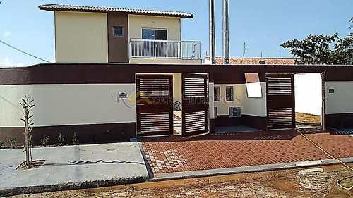 Casa, código 205 em Itanhaém, bairro Jardim Lindomar