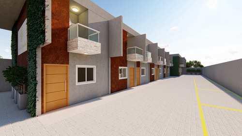 Casa, código 207 em Itanhaém, bairro Suarão