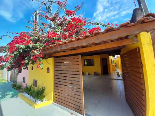 Casa, código 247 em Itanhaém, bairro Balneário Tupy