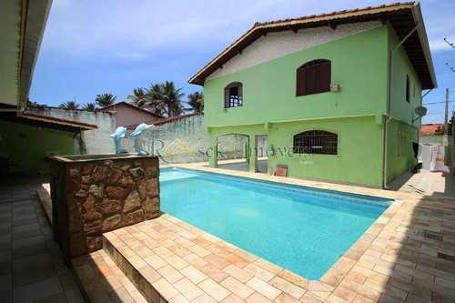 Casa, código 290 em Itanhaém, bairro Gaivotas