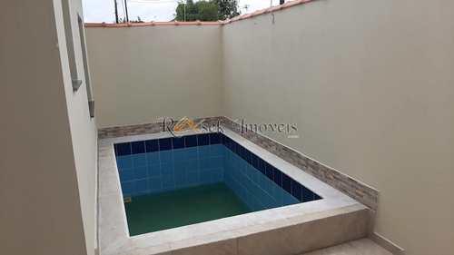 Casa, código 299 em Itanhaém, bairro Cibratel II