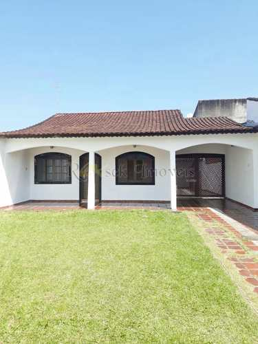 Casa, código 309 em Itanhaém, bairro Gaivotas