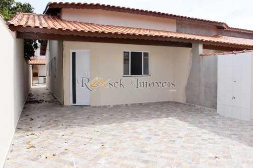 Casa, código 328 em Itanhaém, bairro Bopiranga