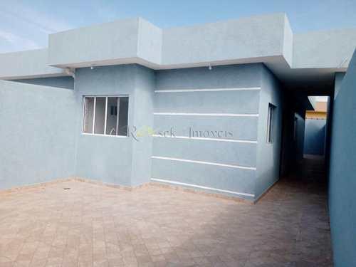 Casa, código 344 em Itanhaém, bairro Gaivotas