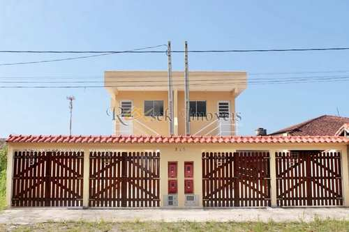 Casa, código 345 em Itanhaém, bairro Jardim Regina