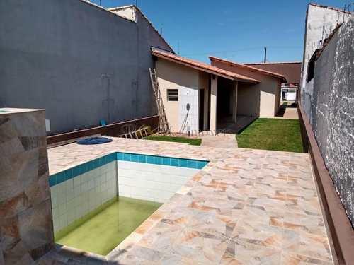 Casa, código 375 em Itanhaém, bairro Cibratel II