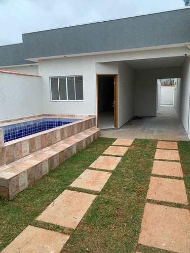 Casa, código 376 em Itanhaém, bairro Jardim Regina