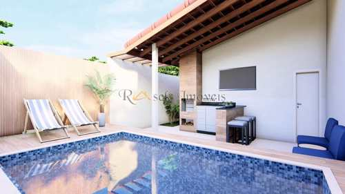 Casa, código 489 em Itanhaém, bairro Parque Augustus