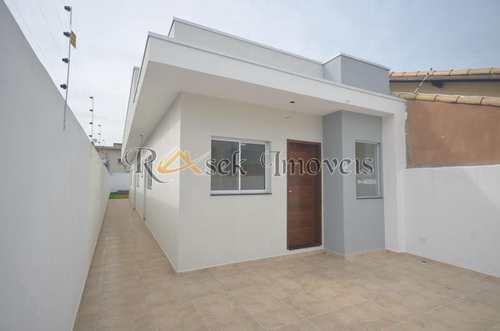 Casa, código 569 em Itanhaém, bairro Cibratel II