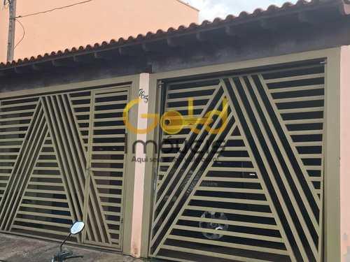 Casa, código 200 em São Carlos, bairro Residencial Parque Douradinho