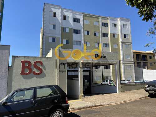 Apartamento, código 602 em São Carlos, bairro Jardim Santa Paula