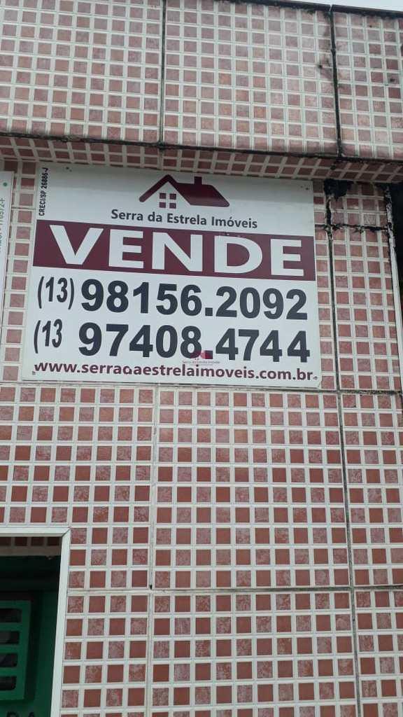 Casa em Santos, no bairro Rádio Clube