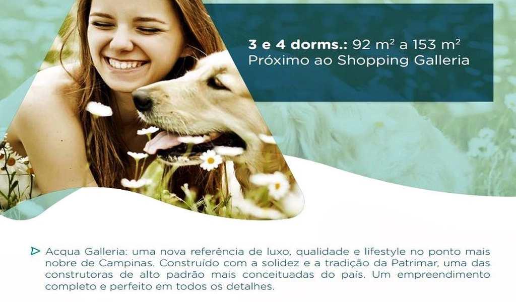 Cobertura em Campinas, bairro Ao Lado do Galleria Shopping