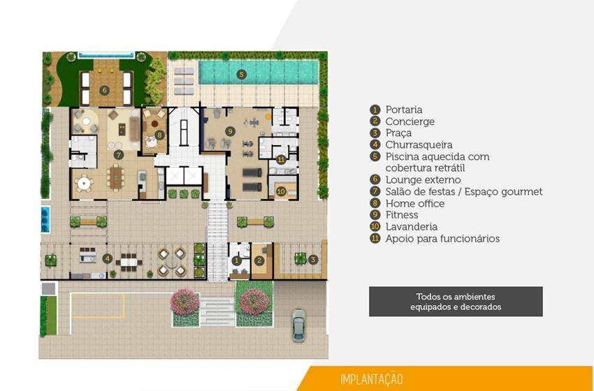 Apartamento em Campinas, no bairro Don Cambuí - Apartamentos de  50M²