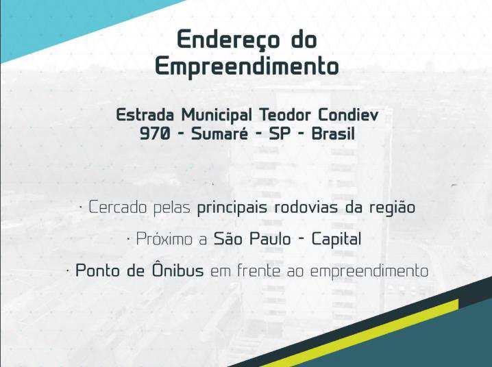 Conjunto Comercial em Sumaré, bairro Jardim Marchissolo