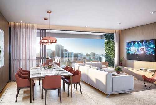 Apartamento, código 94 em Campinas, bairro Cambuí Condomínio Alto Cambuí