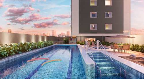 Apartamento, código 96 em Campinas, bairro Quirino 779, Apartamentos de 40M², 1 Dormitório, 1 Vagas, no Centro