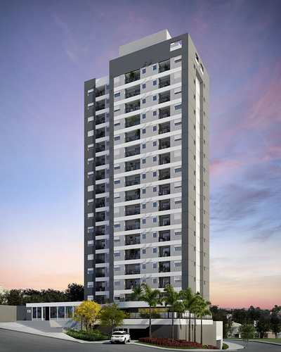 Apartamento, código 100 em Campinas, bairro Urban Design Taquaral, Apartamentos de 45,70M², 2 Dormitórios, 1 Vaga de
