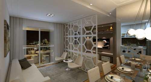 Apartamento, código 102 em Campinas, bairro Up Living, Apartamento 72M², 3 Dormitórios, 2 Vagas, São Bernardo em Cam
