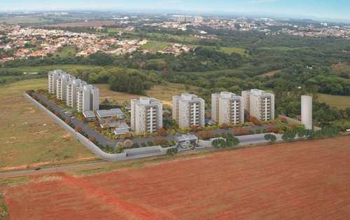 Apartamento, código 109 em Paulínia, bairro Parque da Represa Condomínio Hm Brisa da Mata