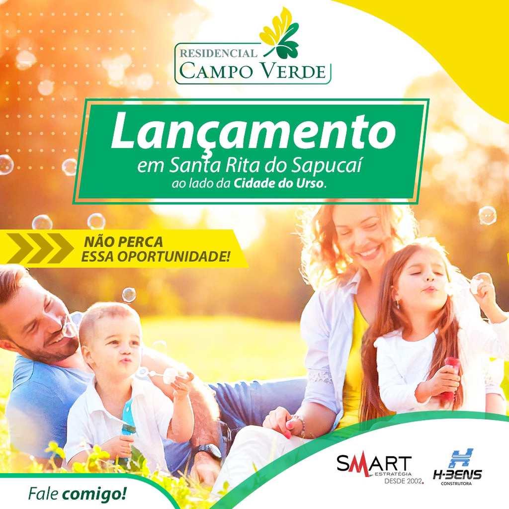 Empreendimento em Santa Rita do Sapucaí, no bairro Campo Verde