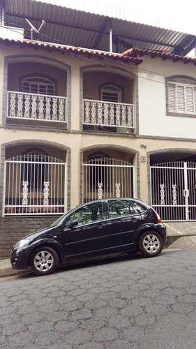 Casa, código 159 em Pouso Alegre, bairro Cascalho