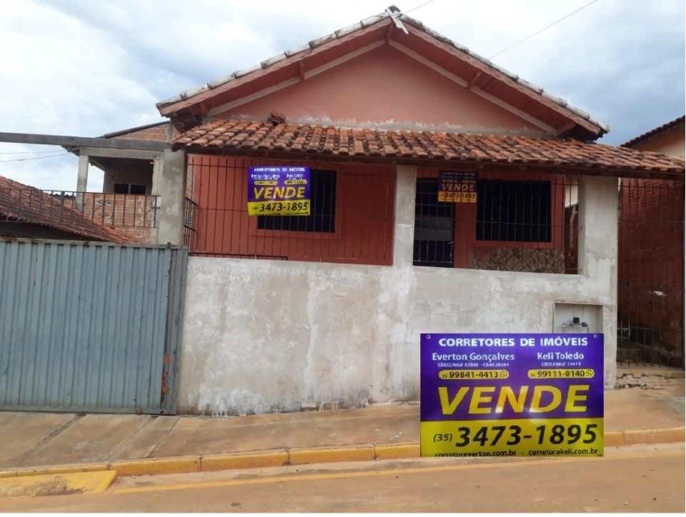 Casa em Santa Rita do Sapucaí, no bairro Conjunto Pedro Sancho