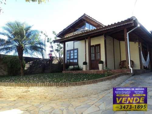 Casa, código 321 em Santa Rita do Sapucaí, bairro Loteamento Vale