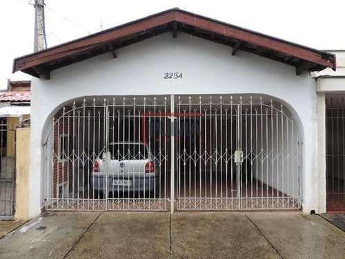 Casa, código 159 em Piracicaba, bairro Vila Independência