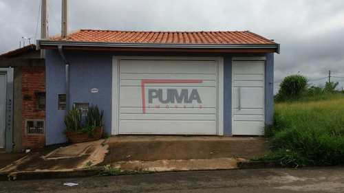 Casa, código 268 em Piracicaba, bairro Água Branca