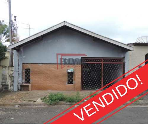 Casa, código 410 em Piracicaba, bairro Vila Monteiro