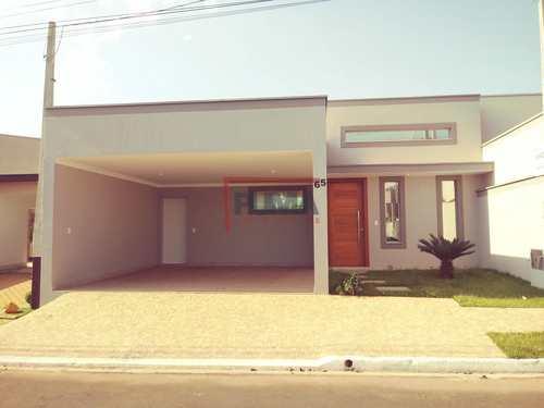 Casa de Condomínio, código 559 em Piracicaba, bairro Jardim São Francisco