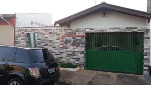 Casa, código 672 em Piracicaba, bairro Conjunto Habitacional Água Branca