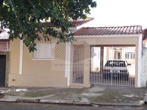Casa, código 29 em Tatuí, bairro Vila Doutor Laurindo