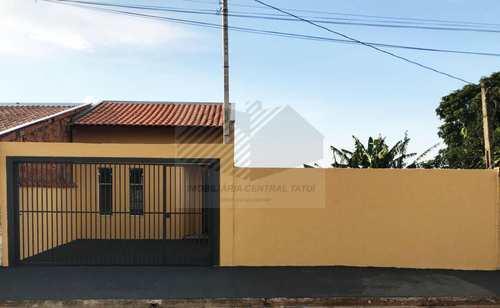 Casa, código 111 em Tatuí, bairro Jardim Santa Rita de Cássia