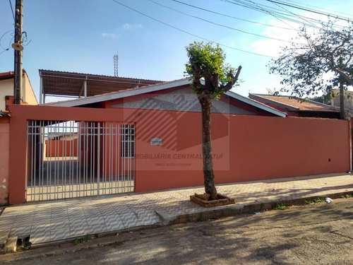 Casa, código 188 em Tatuí, bairro Jardim Wanderley