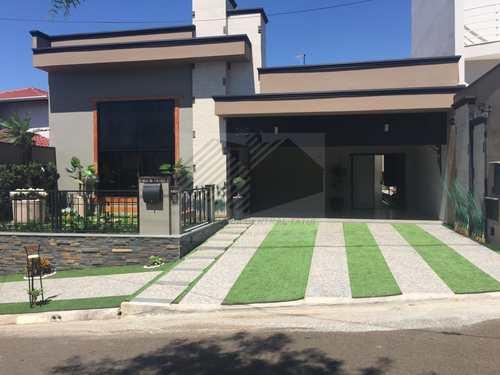 Casa de Condomínio, código 345 em Tatuí, bairro Vila Monte Verde