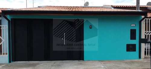 Casa, código 549 em Tatuí, bairro San Marino