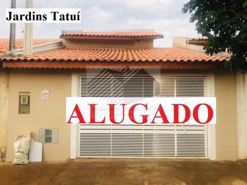 Casa, código 569 em Tatuí, bairro Jardins Tatuí