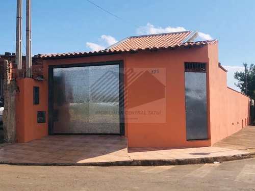 Casa, código 587 em Tatuí, bairro Jardim Santa Rita de Cássia