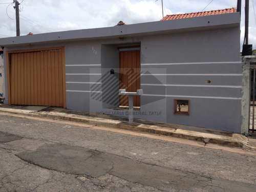 Casa, código 603 em Tatuí, bairro Jardim Tatuí