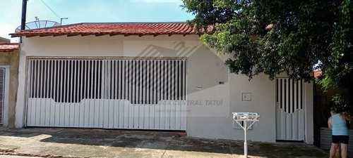 Casa, código 621 em Tatuí, bairro Jardim Primavera