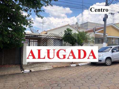 Casa, código 647 em Tatuí, bairro Centro