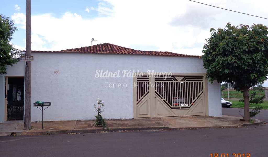 Casa em Birigui, bairro Jardim São Cristóvão