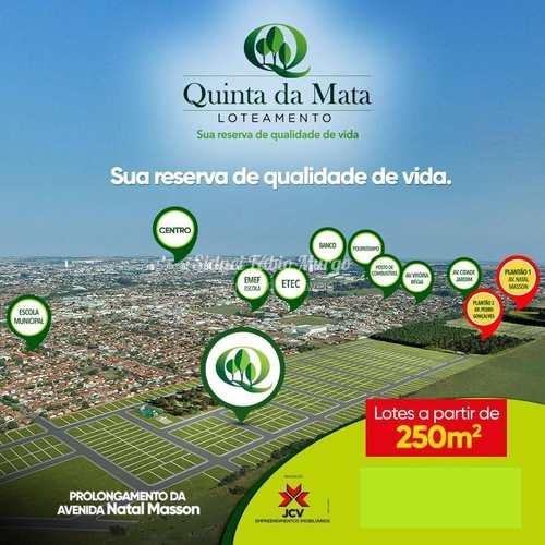 Loteamento, código 54 em Birigui, bairro Residencial Quinta da Mata