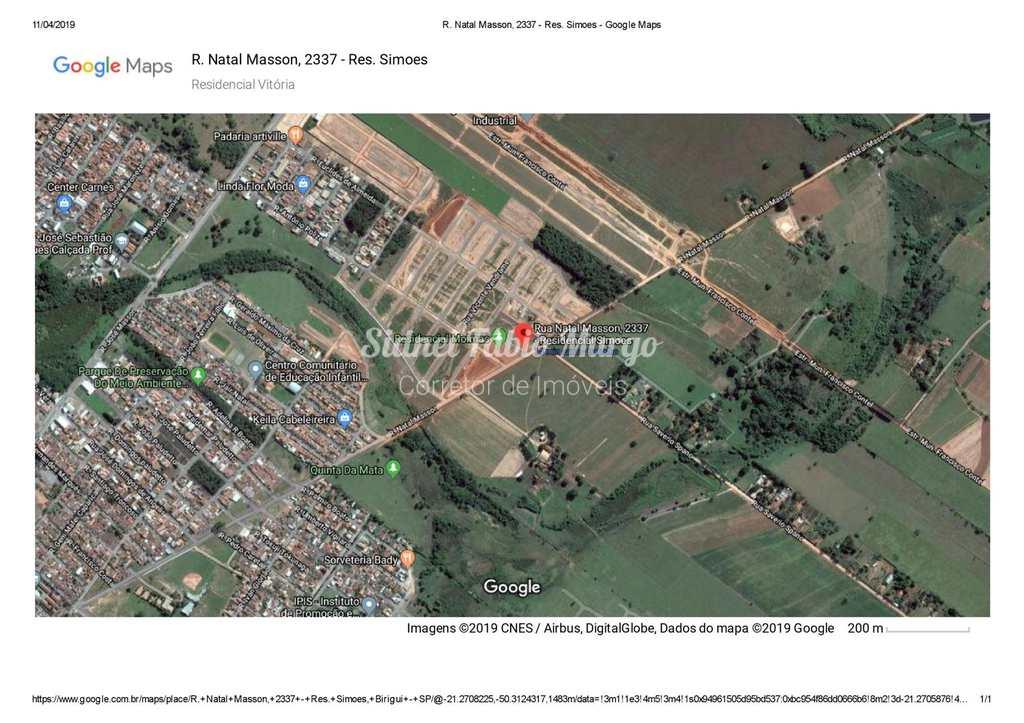 Loteamento em Birigui, no bairro Residencial Vitória