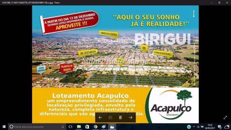 Loteamento em Birigui, no bairro Jardim Acapulco