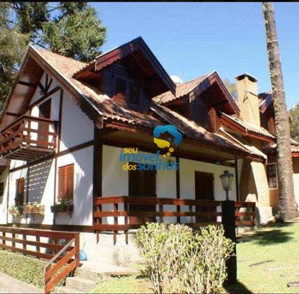 Casa em Campos do Jordão, no bairro Vila Inglesa