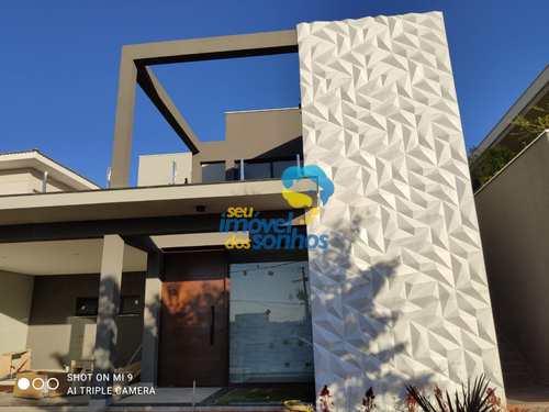 Casa de Condomínio, código 120 em Bragança Paulista, bairro Lagos de Santa Helena